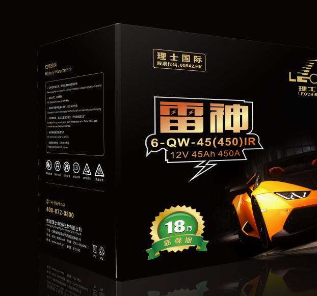 理士国际-电池包装设计