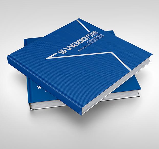万博投资-画册设计